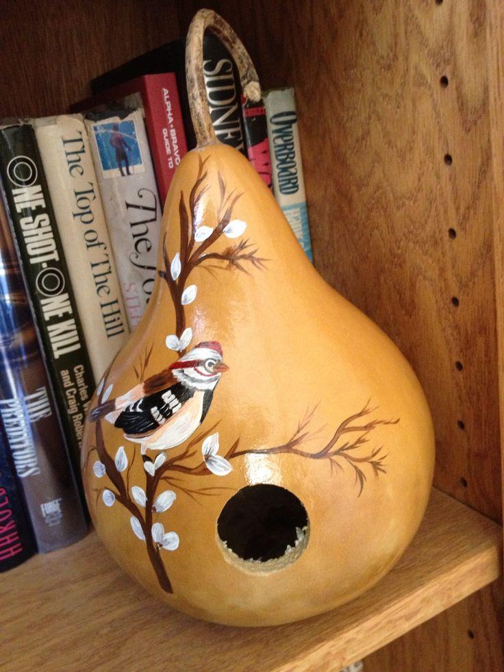 Gourd birdhouse                                                                                                                                                     More