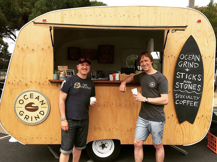 We are all set down at the Bell St Fiesta @daftevent. Stoked to be teaming up with Nic from @sticksstonecafe in the OG caravan today. Alongside us there will also be #nitrocoffee and #nitrotea by @chachateaau. Great day ahead . #oceangrind #sticksandstonescafe #specialtycoffee #torquay #bellstreetfiesta #daft #surfcoast #greatoceanroad #getamongstit by oceangrind