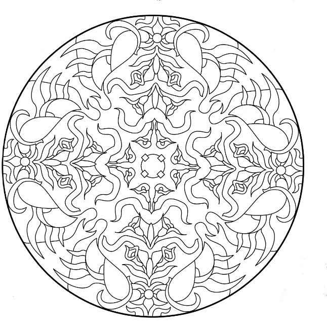 Les 34 Meilleures Images Du Tableau Mandala 224 Imprimer Sur
