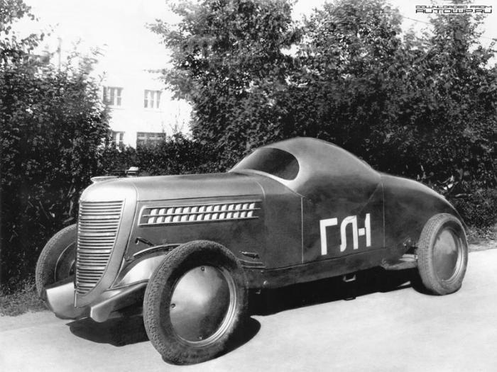 ГАЗ-ГЛ-1 — первый советский гоночный автомобиль (7 фото)