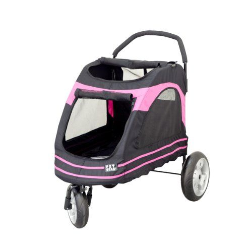 Pet Gear Roadster Pet Stroller for Cats and Dogs, Black ...