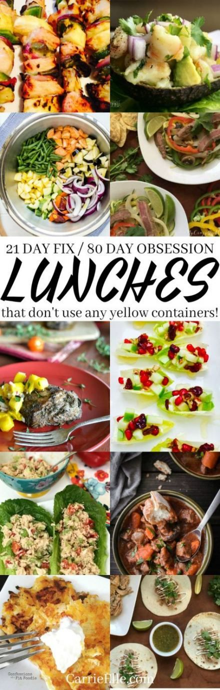 20 Trendy cleaning day healthy lunches