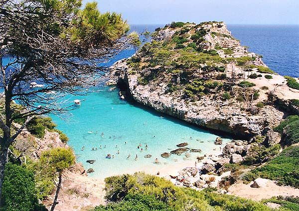 Mallorca, Cala de Sa Comuna - I've been to Mallorca twice, this small beach was difficult to find but so beautiful!