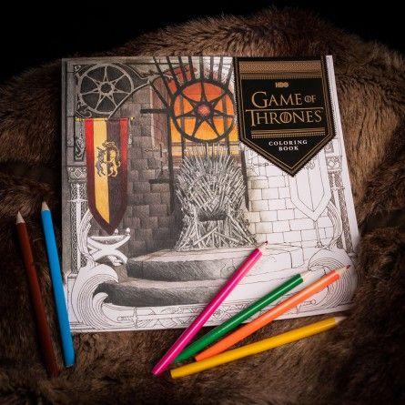 Nuovi arrivi - Libro da colorare Games Of Thrones - Arte in serie