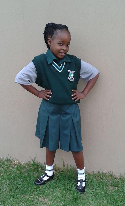 Hope is now in grade 5.