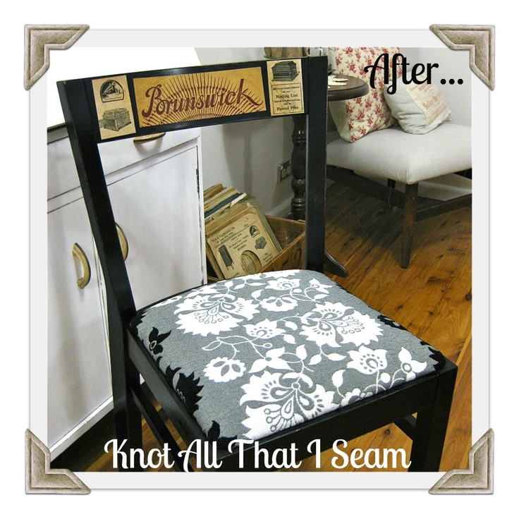 Knot All That I Seam: Roadside Rescue - Desk Chair Reveal!
