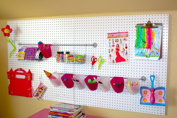 1000 images about i for Craft room pegboard accessories