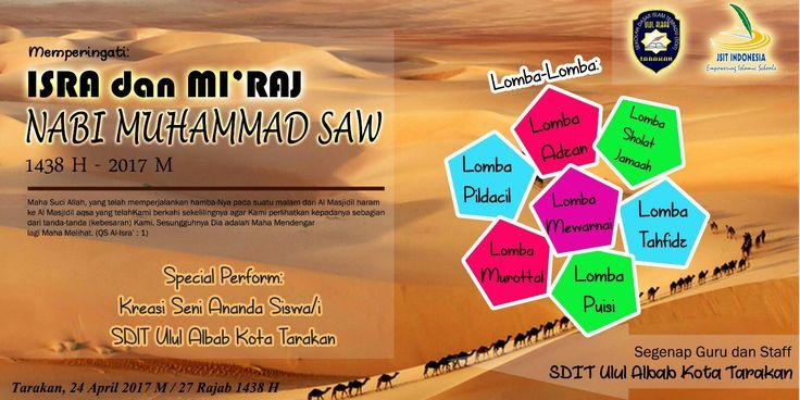 Agenda memperingati maulud nabi muhammad shalallahu 'alaihi wa salam.. SDIT ULUL ALBAB TARAKAN