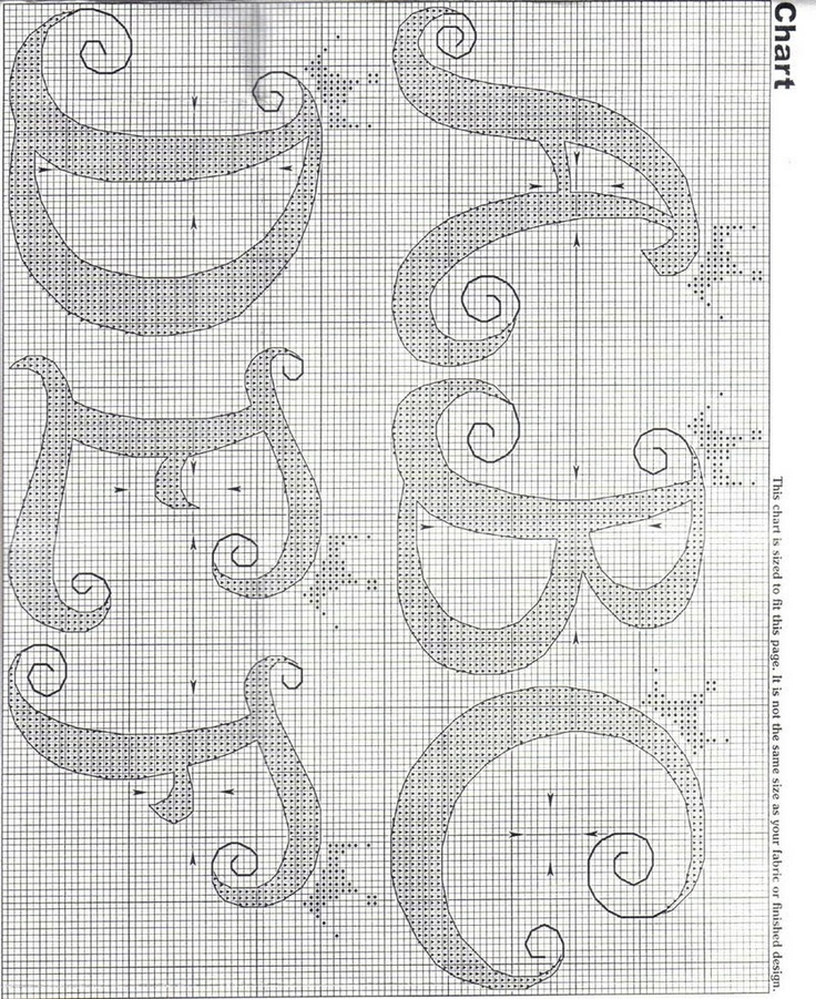 Charts Cross Stitch and Crochet: September 2010