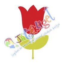 Tulipán ovis öntapadós jel