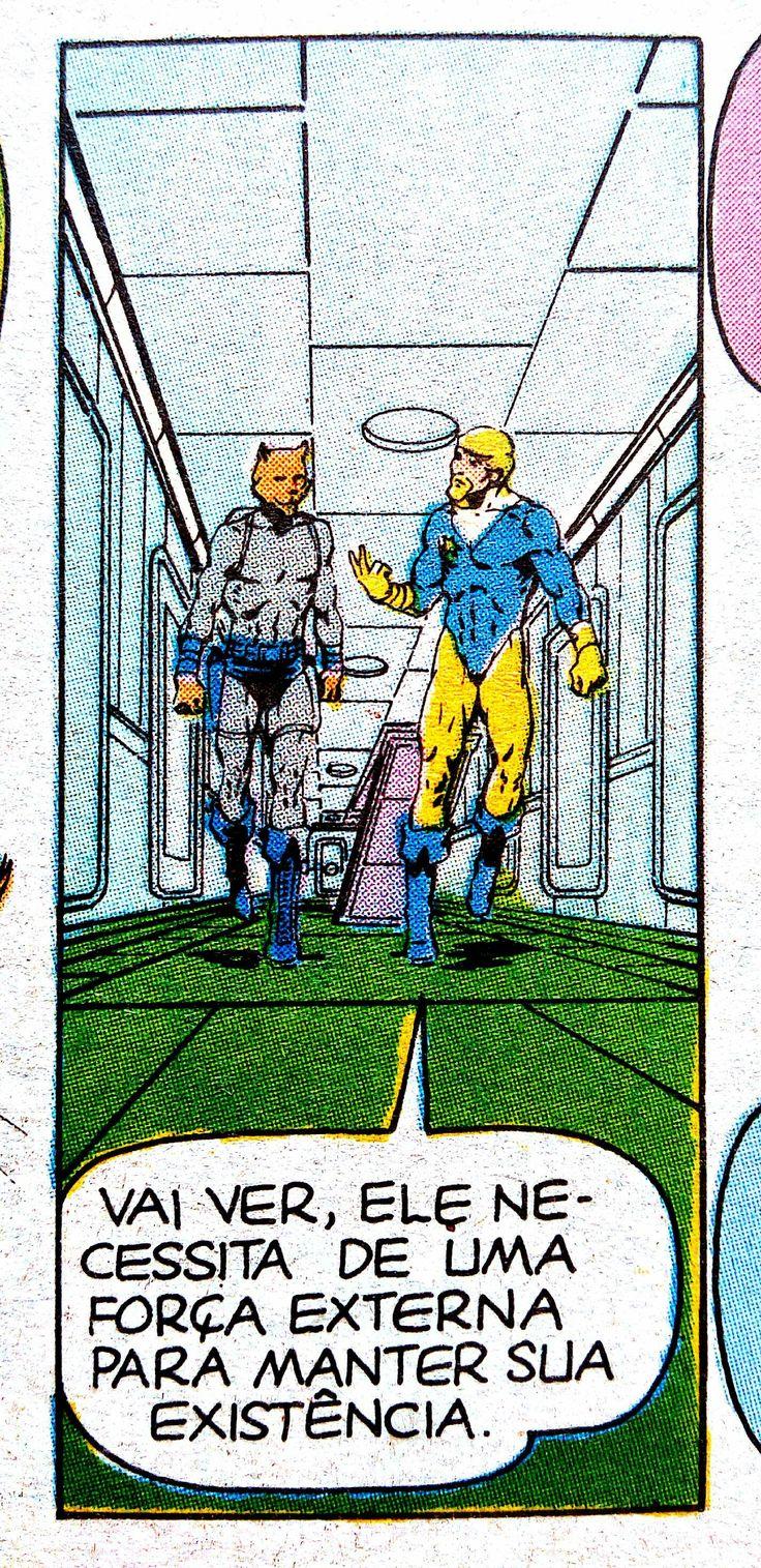 Gibi Dreadstar #7, 1990, Jim Starlin