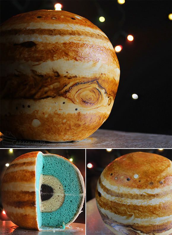 Jupiter Structural Layer Cake - amazing! » This is FANFREAKINGTASTIC! This goes onto the must-make list!
