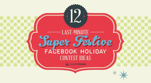 12 Facebook Contest Ideas for the Holidays [infographic] #contests #facebook