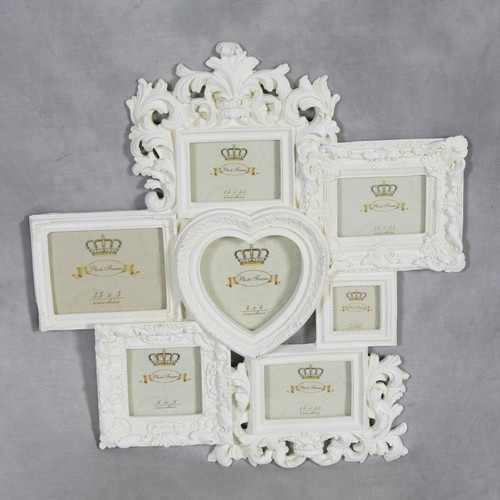 Cream Multi Picture Frame Choice Image - origami instructions easy ...