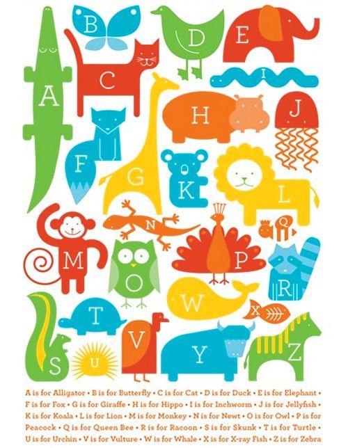 abecedariosAnimal Alphabet, Oopsies Daisies, Abc Animalia, Canvas Wall Art, Art Prints, Alphabet Animal, Animal Prints, Design Studios, Ampersand Design