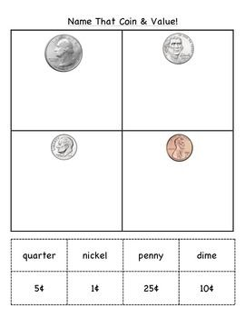 sorting coins by name value lesson activities visual aids sorting coins. Black Bedroom Furniture Sets. Home Design Ideas