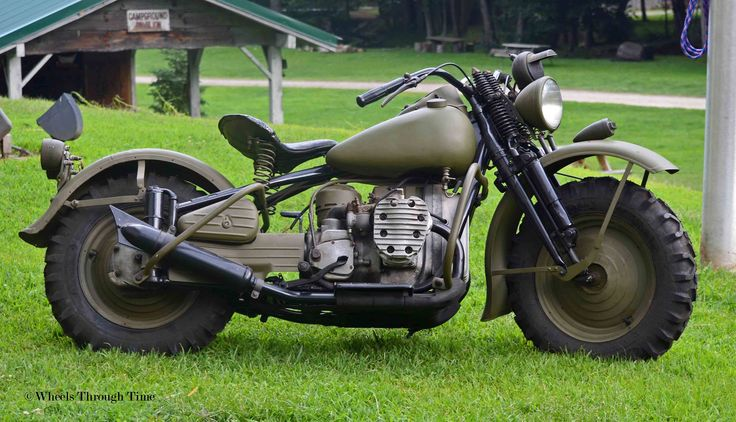 WW2 Africa Harley Davidson | This example was restored in ...