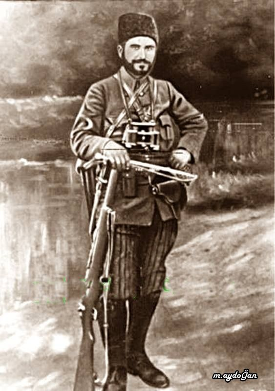 Köprülü Hamdi (1888 - 18 Şubat 1920), Kuva-yi Milliye komutanı. (Edremit Kaymakamı Hamdi bey)
