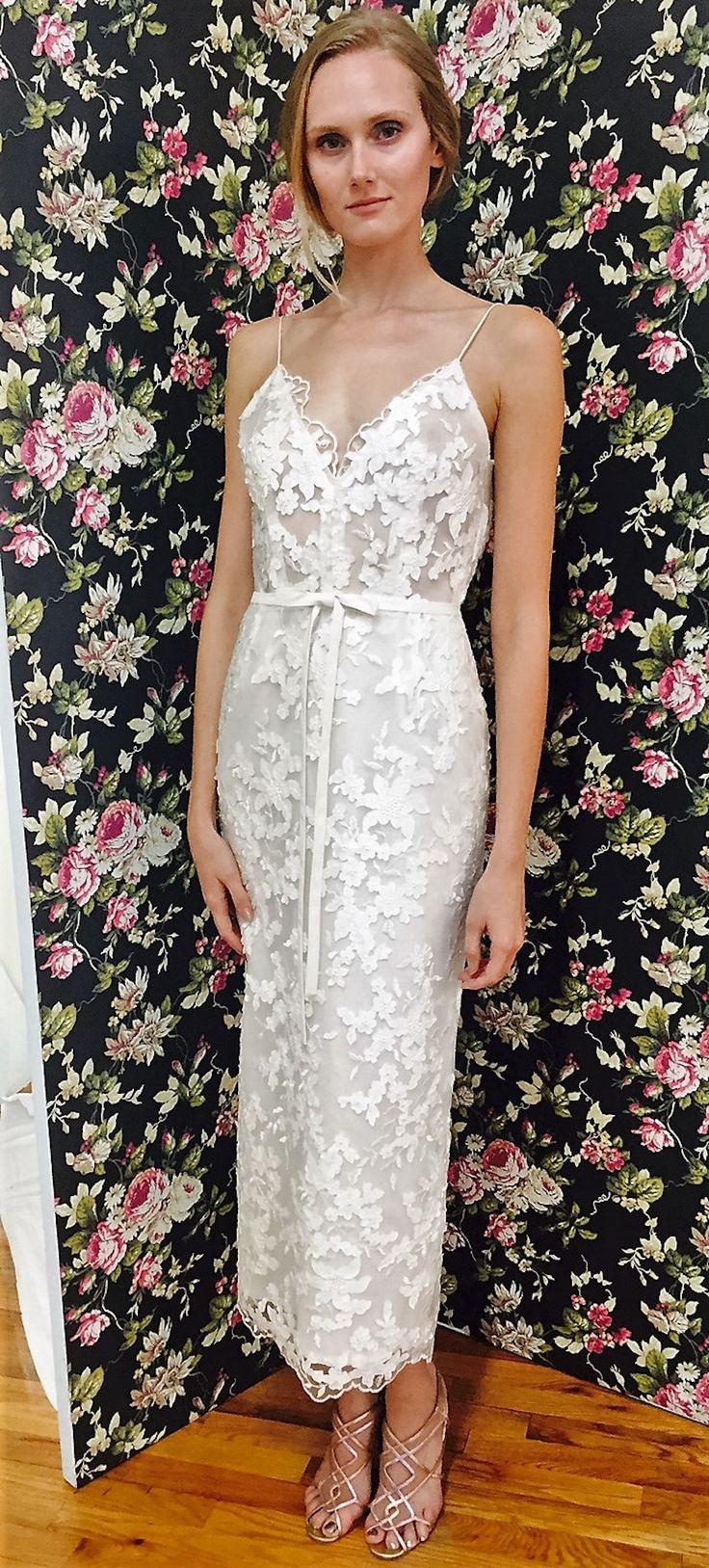 Elizabeth Fillmore Bridal Week Fall 2017 - http://www.stylemepretty.com/2016/10/12/elizabeth-fillmore-bridal-week-fall-2017-wedding-dresses/