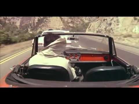 (Movie) 1976 The Graduate - bright-red Alfa Romeo 1600  Duetto Spider.