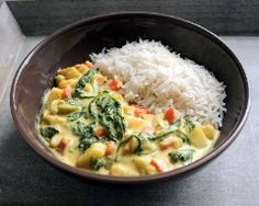 curry de légumes (végétalien) Plus
