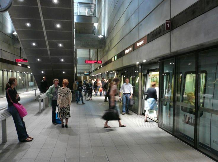 Metrostation, Copenhagen. Photo : Jepsen