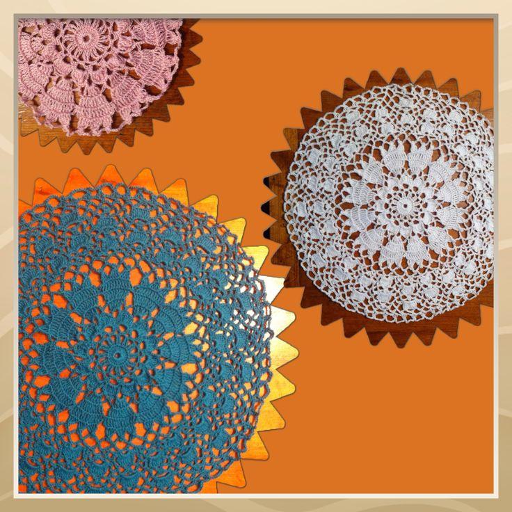 Crochet: Carpetas de mesa / Crochet: Doilies