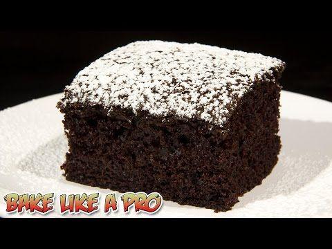 VEGAN Chocolate Cake Recipe - DAIRY FREE Chocolate Cake Recipe - YouTube