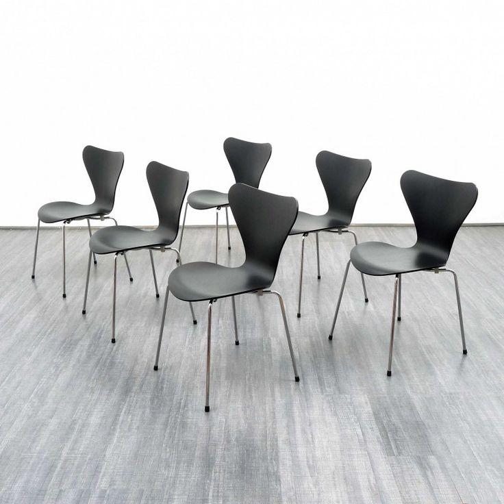 chaise s rie 7 fritz hansen arne jacobsen 2014. Black Bedroom Furniture Sets. Home Design Ideas