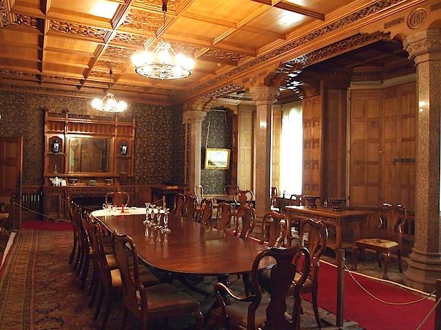 The Dining Room - Tyntesfield - Wraxall - Somerset - England