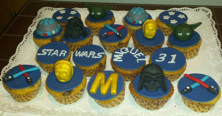 Cupcakes de Star Wars, para celebrar un cumpleaños!!