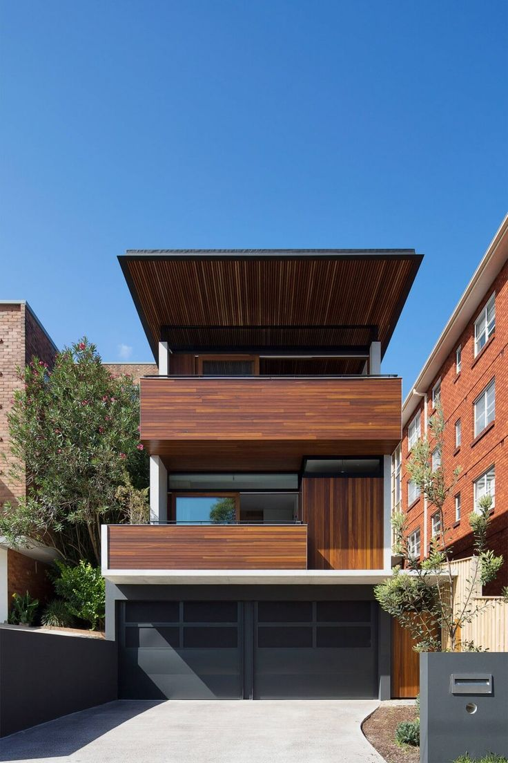 71 best building on narrow sites images on pinterest