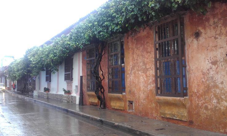 Calle de Cartagena-Bolìvar-Colombia