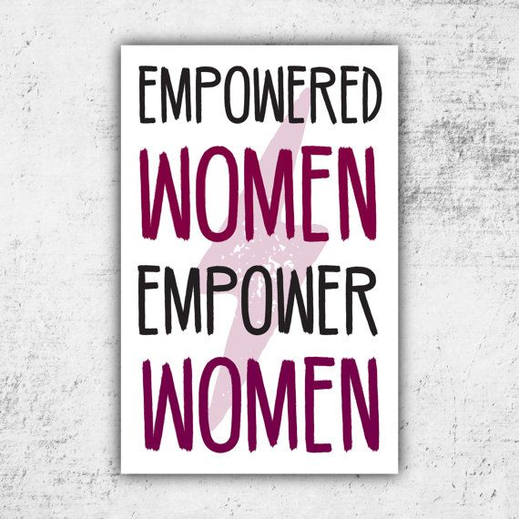 Empowered Women Empower Women // PRINTABLE Protest Sign // Digital Print *No Physical Item Shipped Perfect for Womens March on Washington Sized at 11x17 & 18x24 (High Quality Print PDF & JPG) (If youd like a different size please message me and Ill adjust!) Recommended: Print at Staples (or like store) on 11x17 or 18x24 Heavy Cardstock or Poster Board Colors may slightly vary due to screen resolution Have another Protest Sign idea in mind? Message me for cus...