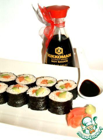 Суши? Элементарно - кулинарный рецепт