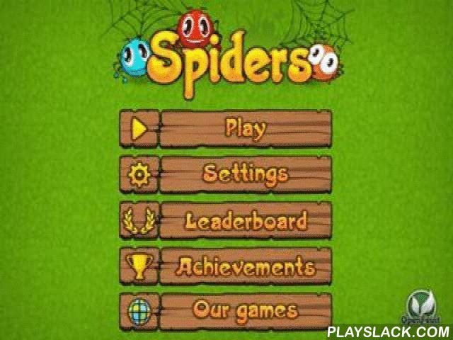 Spiders  Android Game - playslack.com , Siders   an intriguing creating  problem for all ages with shinny enlivened graphics and pleasing heroes. In the supernaturalism wood a large family of spiders lives. parent arachnid and parent arachnid left on affairs, and children were left with their grandparent. immature spiders are such agitations, therefore they constantly get mistaken  in an object. The anticipation is only on you: aid the grandparent to travel grandchildren, let's adventurers…