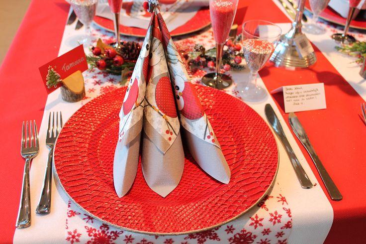 Natural Red: Tafelbekleding - revêtements de table