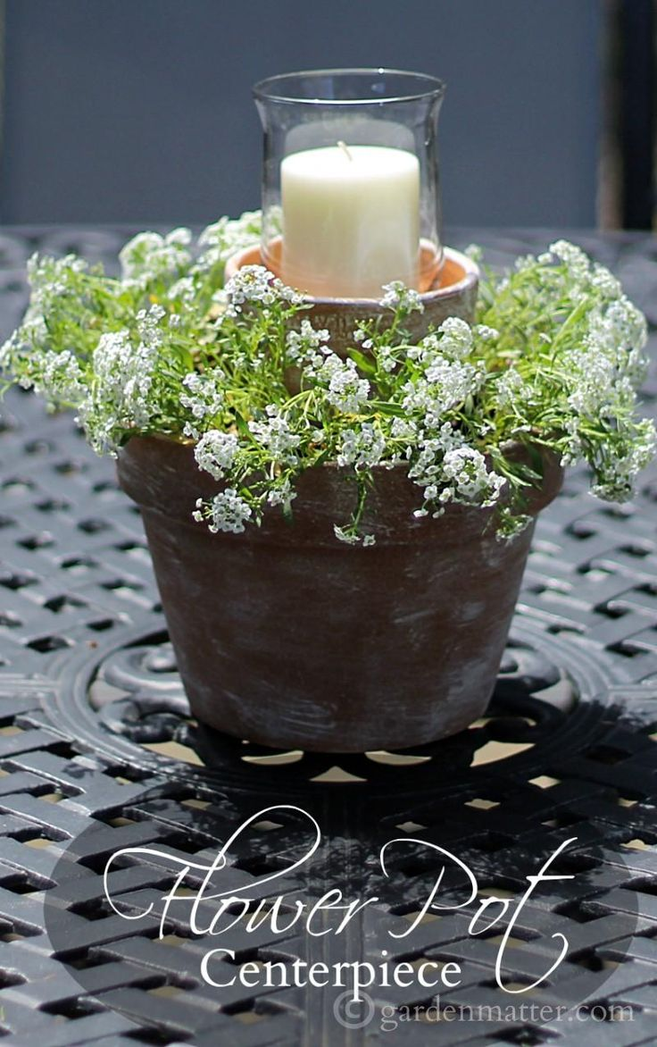 You can make this beautiful centerpiece for around $10 in less than an hour.  Makes a great easy and affordable gift.