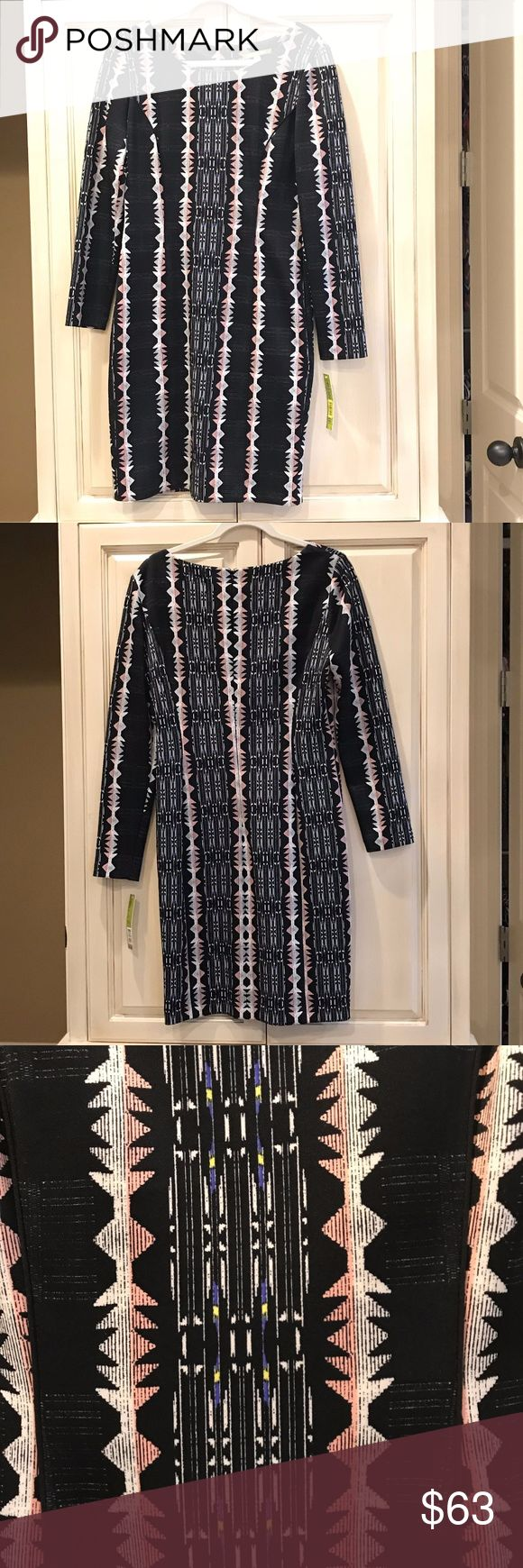 Gianni Bini Dress Gianni Bini Trisha Dress - NEW with Tag!  Style 6170M110 Gianni Bini Dresses Long Sleeve