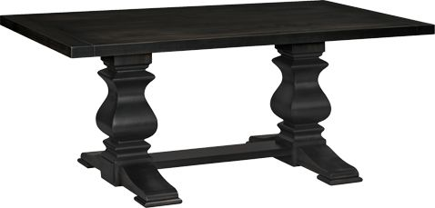 American Made Napa Valley Extension Dining Table is one of our most popular tables and available in many unique finishes.
