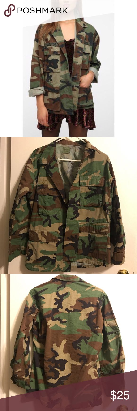 Urban Outfitters urban renewal Army surplus jacket From urban Outfitters! States a size small Urban Outfitters Jackets & Coats