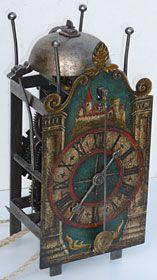 Swiss Gothic iron chamber clock, seventeenth century