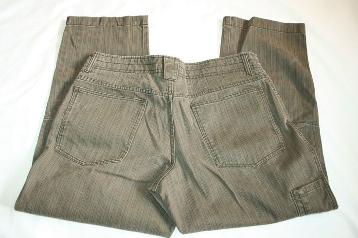 Mens Solaris jeans textured stripe pants tag size 36 X 30 #Solaris #Relaxed