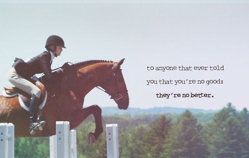 to people who tell me im not good at riding, no im not perfect but yall aint perfect either.