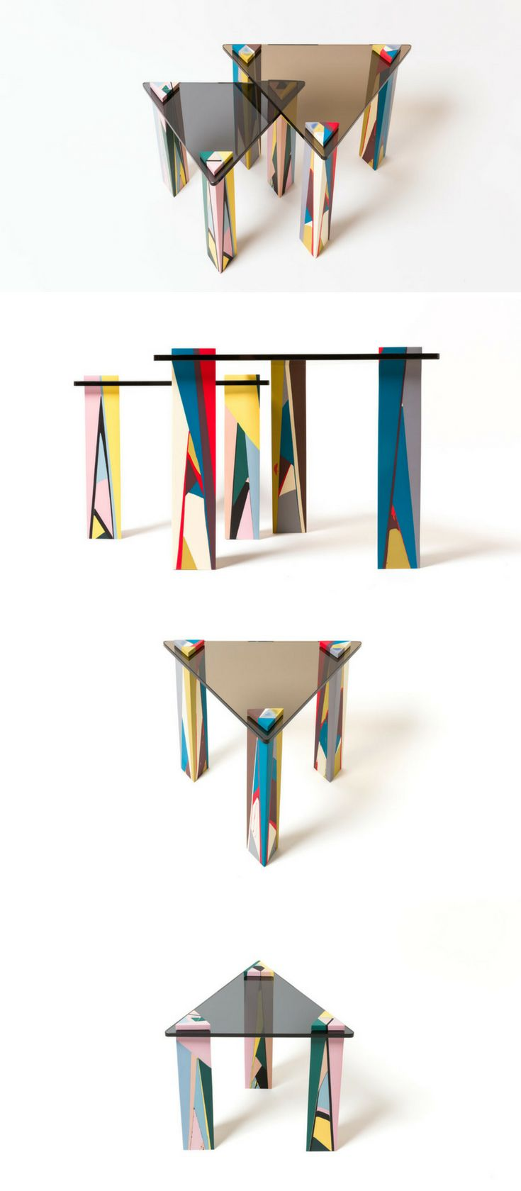 Reclaimed teak wood cracked resin side tables youtube - Elyse Graham Launches Colorful Resin Vessels And Furniture