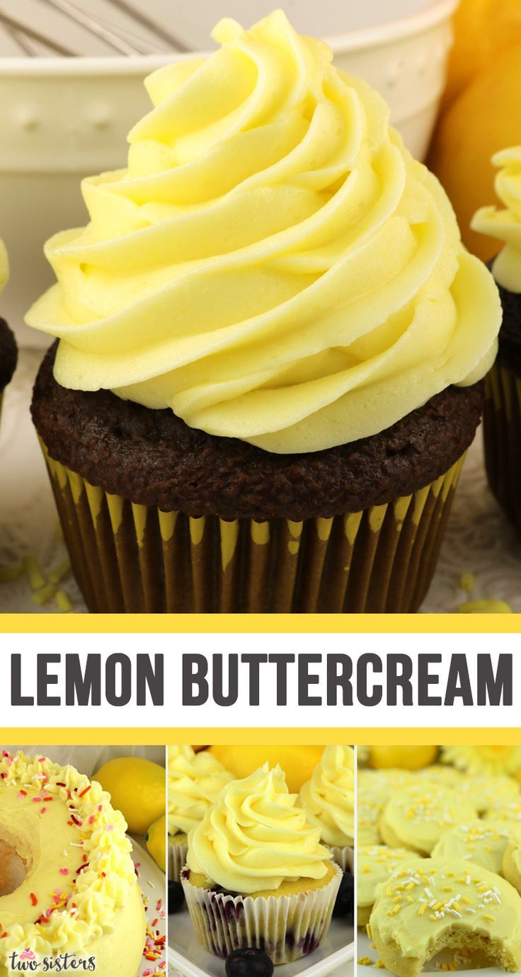 The Best Lemon Buttercream Frosting Recipe In 2020 Homemade Frosting Recipes Frosting Recipes Frosting Recipes Easy