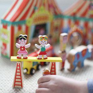 Janod story box circus