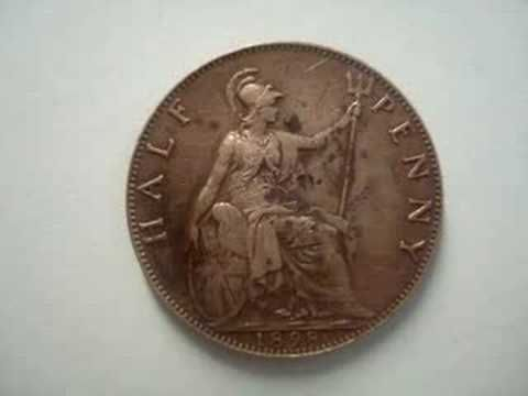 5 FOREIGN COINS THAT ARE WORTH MONEY - GREAT BRITAIN PENNY COINS TO