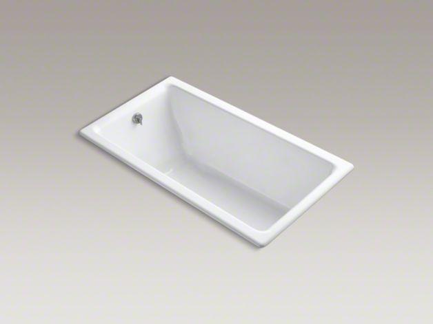 Kohler K 804 Kathryn 5 5 Foot Bath Whirlpool Bath Soaker Tub Cast Iron Bath