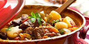 Hearty Beef Soup with Lentils and Barley